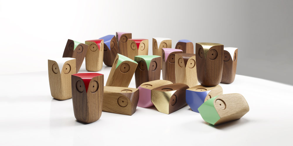 Matt Pugh - wooden owls
