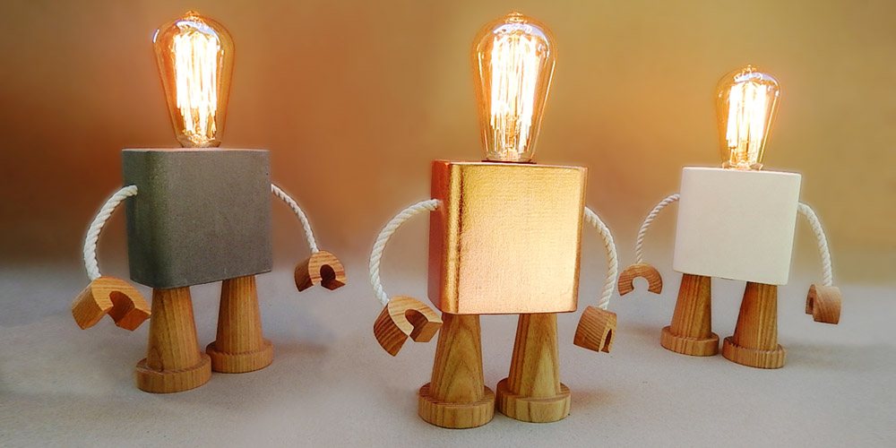 Matt Pugh - robo lamp