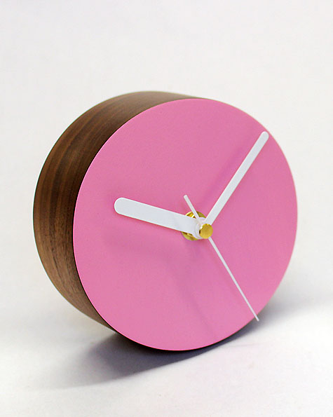 Desk Clock | Circle | Matt Pugh   Modern British Design