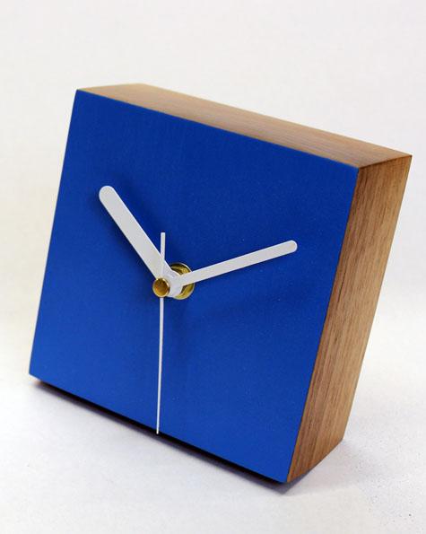 desk clock circle desk clock square - Designer Desk Clock